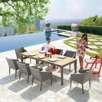 Florence 8 személyes étkezőgarnitúra  - Kerti bútor