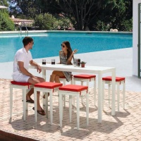 Florence 6 személyes bárszett  - Kerti bútor