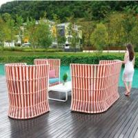 Apricot magasított háttámlás ülőgarnitúra  - Kerti bútor