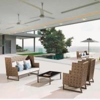 Asthina magasított háttámlás ülőgarnitúra  - Kerti bútor