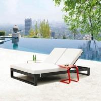 Amber dupla napozóágy  - Kerti bútor