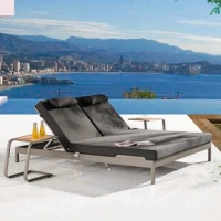 Barite dupla napozóágy  - Kerti bútor