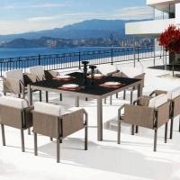 Barite 8 személyes étkezőgarnitúra  - Kerti bútor