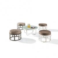 Barite 4 személyes kávézó szett  - Kerti bútor