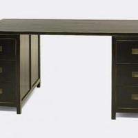 Kínai antik íróasztal fekete -