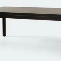 Kínai antik étkezőasztal 200x90cm fekete -