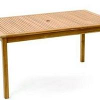 Teak asztal szögletes 150cm -