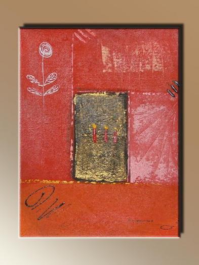 Absztrakt festmény 23.