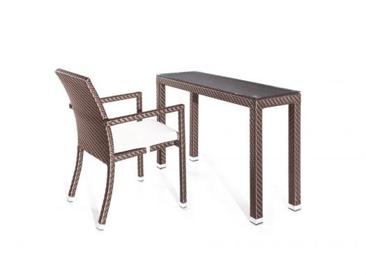 Tecoma konzol/íróasztal székkel