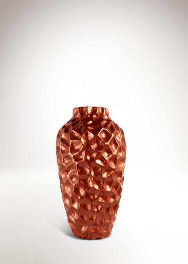 Bronz színű asztali váza