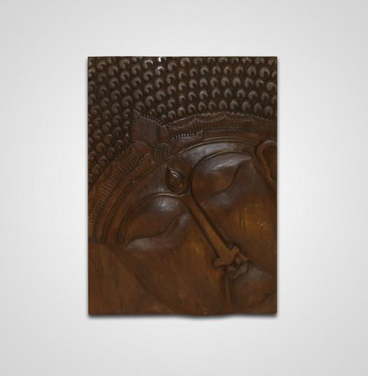 Buddha panel 1 db-os középbarna